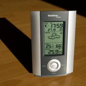 Die WS 6710 überzeugt durch guten Display