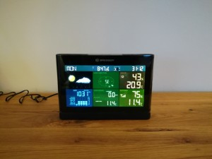 Display der Bresser Bresser Wetter Center 5-in-1