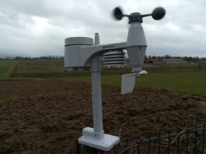 Außensensor der Funkwetterstation