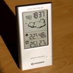 Kunststofflook der Funkwetterstation im Test
