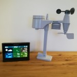 Bresser-Wettercenter Display und Sensor