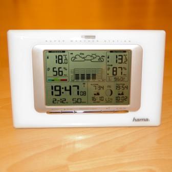 Testbericht zur Hama Wetterstation - EWS 751
