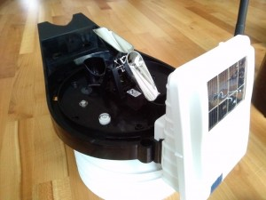 Ein Wippschlag misst 0,2 mm Niederschlag - Test der Davis Vantage Pro 2