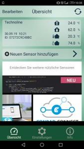 Mobile Alerts Internet Wetterstation App