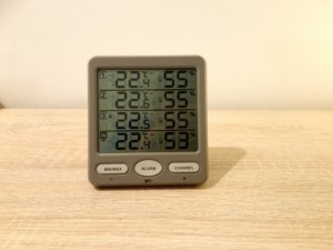 Test des Funkthermometers