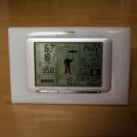 Wetterprognose mit Wettermännchen - Die Wetterstation von TFA Dostmann verfügt über eine gute Wettervorhersage