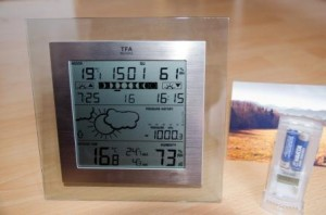 Design-Wetterstation TFA Square Plus - Testbericht